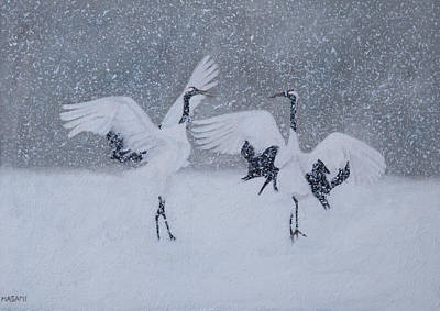 Painting - Snow Dancers by Masami Iida