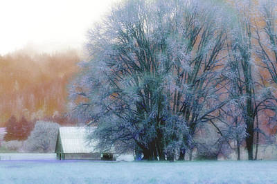 Photograph - Snow Day by Adria Trail