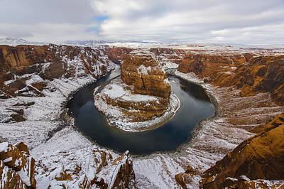 Desert Photograph - Snow Day by Dustin  LeFevre