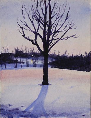 Painting - Snow Day by Stacy Williams
