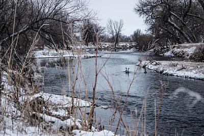 Photograph - Snow Day by Tyson Kinnison