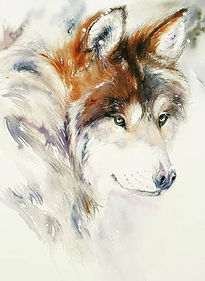Painting - Snow Dog by Arti Chauhan