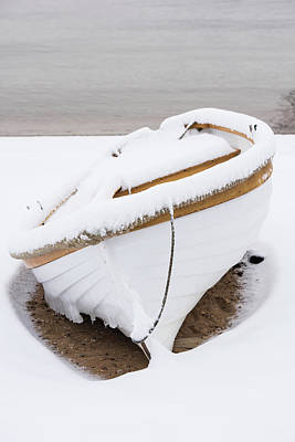 Photograph - Snow Dory by Steve Myrick