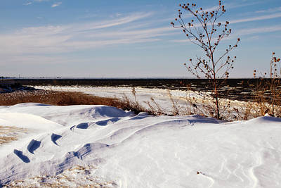 Photograph - Snow Dunes by Lana Trussell