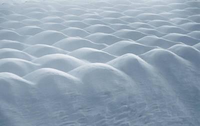 Photograph - Snow Dunes by Mark Fuller