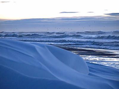 Photograph - Snow Dunes by  Newwwman