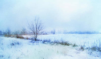 Photograph - Snow Field by John Rivera