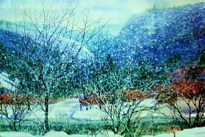 Painting - Snow Flurries by Joseph Barani