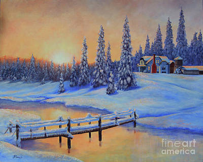 Painting - Snow Home by Jeanette French