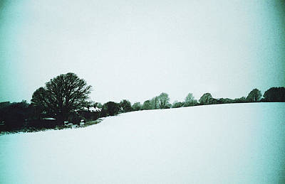 Photograph - Snow In Sussex by Anne Kotan