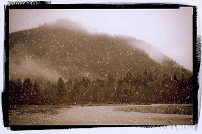 Photograph - Snow In The Cascades by Craig Perry-Ollila