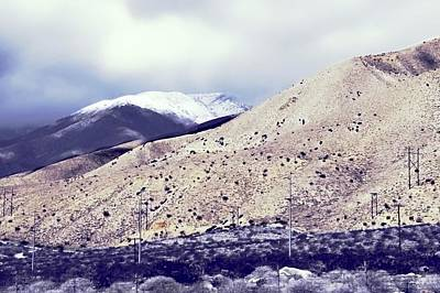 Photograph - Snow In The Desert by Kirsten Giving