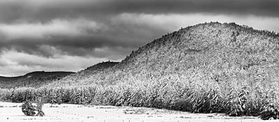 Photograph - Snow In The Hills by Bill Wakeley
