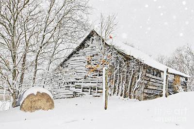 Photograph - Snow In Valle Crucis by Benanne Stiens