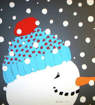 Snow Kid Original by Paula Weber