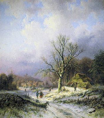Snow Landscape 2 Art Print