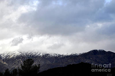 Photograph - Snow Line by Clayton Bruster