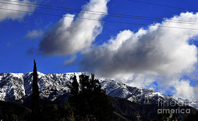 Photograph - Snow Line In Socal by Clayton Bruster