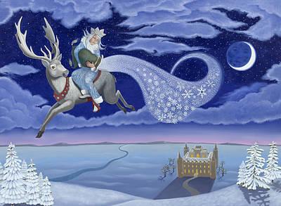 Snow Maker Original by Karen MacKenzie