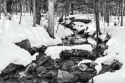Photograph - Snow Melt II by Sharon Seaward