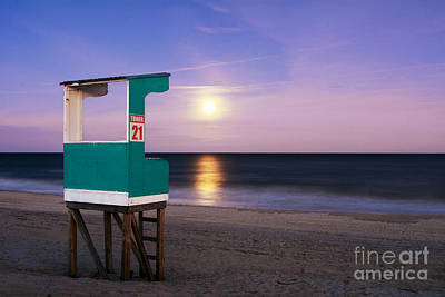 Photograph - Snow Moon Rising by Kelly Nowak