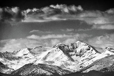 Photograph - Snow Mountian  by Cliff Norton