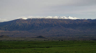 Photograph - Snow On Mauna Kea by Pamela Walton