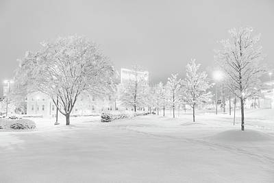 Photograph - Snow On Pettigrew by Ben Shields