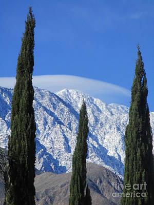 Photograph - Snow On San Jacinto by Randall Weidner
