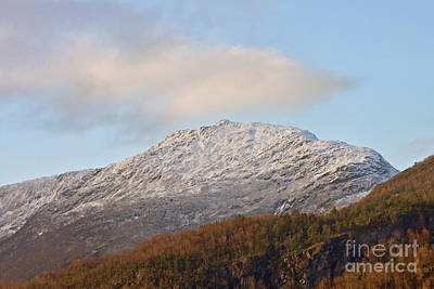 Snow Photograph - Snow On The Mountain by Sverre Andreas Fekjan