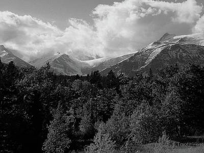 Photograph - Snow On The Mountains by Tracey Vivar