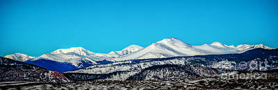 Photograph - Snow On The Roof by Jon Burch Photography