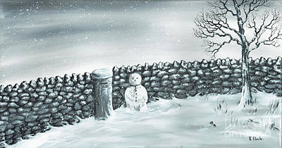 Painting - Snow Patrol by Kenneth Clarke