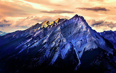 Photograph - Mount Cascade by John Poon