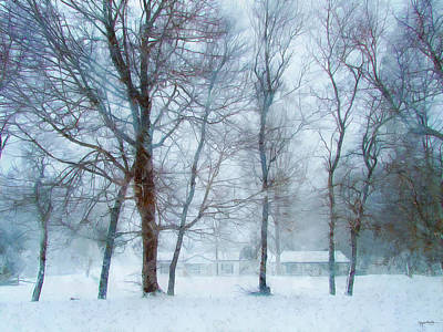 Photograph - Snow Place Like Home by Spyder Webb