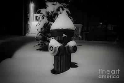 Photograph - Snow Plug by Eddy Mann