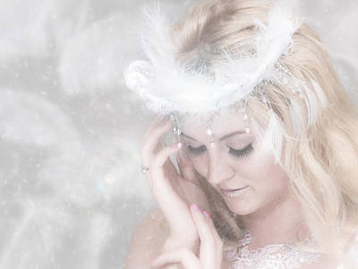 Photograph - Snow Queen by Rikk Flohr