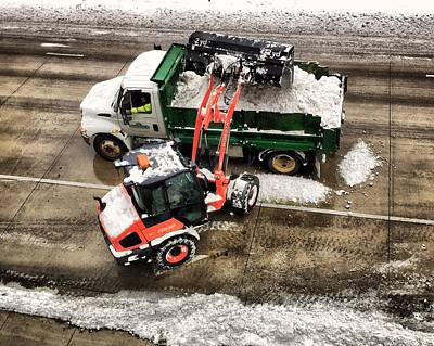 Photograph - Snow Removal by Tom Gort
