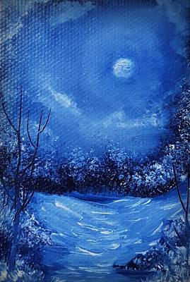 Painting - Snow Ring  by Tom Conboy