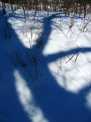 Photograph - Snow Shadow 6 by Douglas Pike