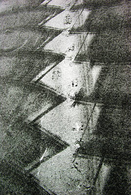 Photograph - Snow Shovelling Patterns by Paul Wash