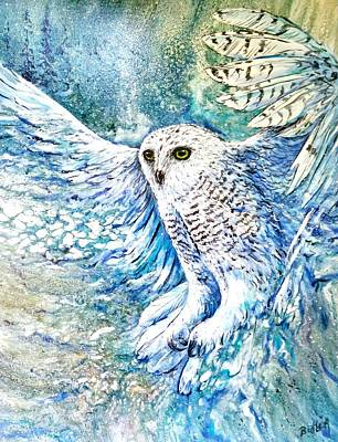 Painting - Snow Spirit by Gail Butler