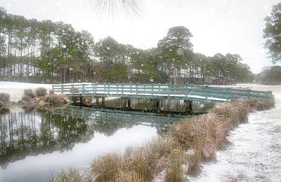 Photograph - Snow Storm 1 by Kathy Baccari