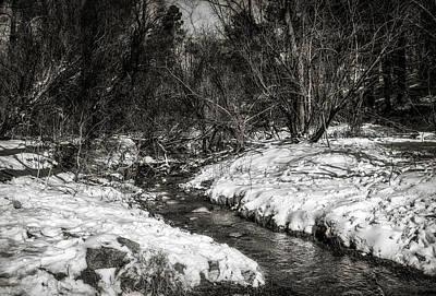 Photograph - Snow Streams by Elaine Malott