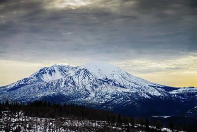 Photograph - Snow Top Rock by Michael Scott