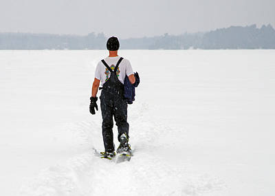 Photograph - Snow Trekker by Keith Armstrong