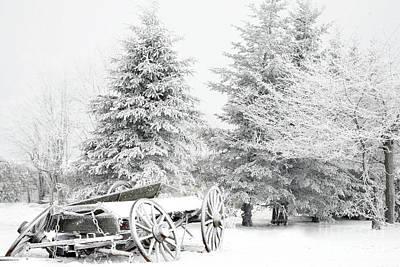 Photograph - Snow Wagon by Rick Mann