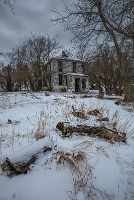 Photograph - Snow White Abandoned  by Aaron J Groen