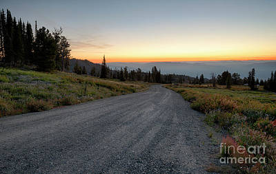 Photograph - Snowbank Mountain Road by Idaho Scenic Images Linda Lantzy