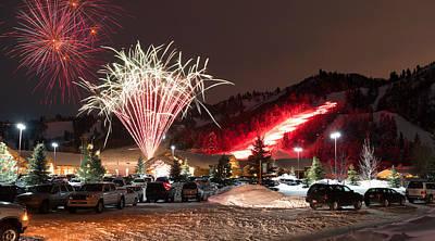 Photograph - Snowbasin Celebration by Ryan Moyer